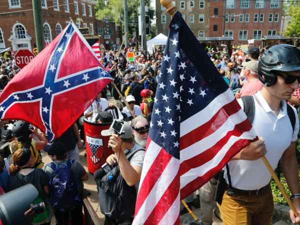 "Analysis Of Facebook Activity Reveals Who Attended Last Year's ""Unite The Right"" Rally"