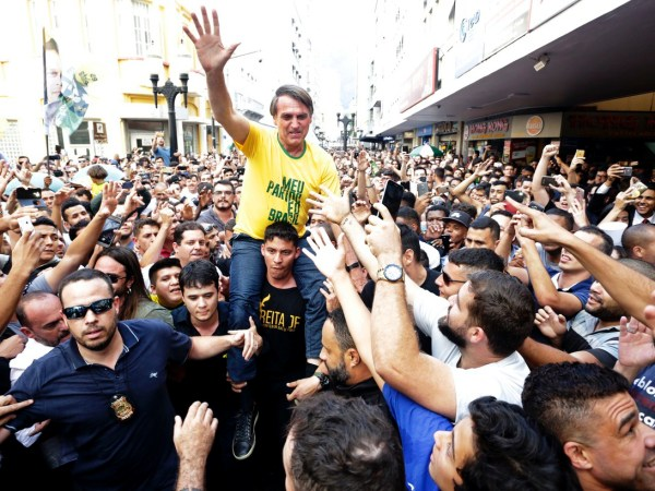 Election Of Brazil's Trump-like Bolsonaro Would Bring Climate Catastrophe