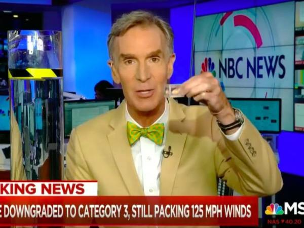 Watch Bill Nye Expertly Explain How Climate Change Strengthened Hurricane Florence