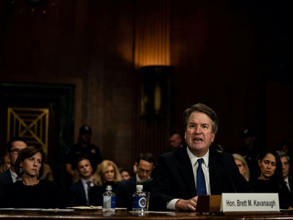 Kavanaugh Kills Senate Republicans' Last Shred Of Dignity