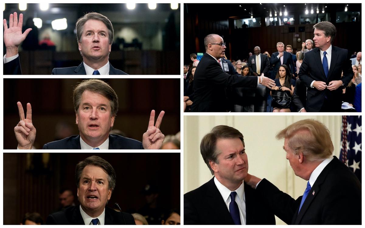 Supreme Court nominee Brett Kavanaugh (AP)