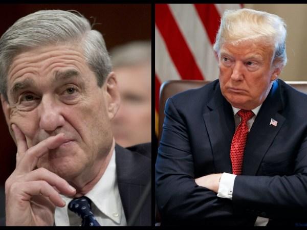 As Mueller Closes In, Trump Retweets Meme Of Mueller, Obama, Clinton, Rosenstein In Jail