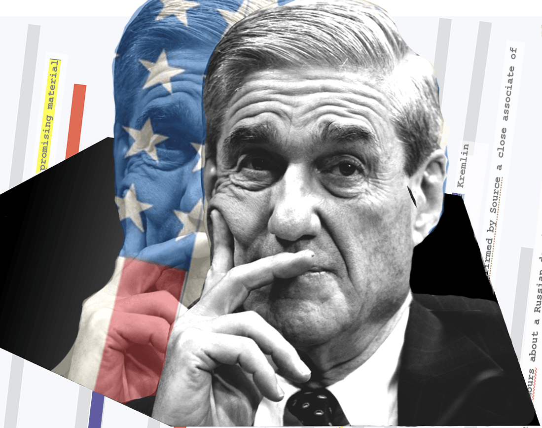 Special Counsel Robert Mueller (Artwork By Rantt Media Production Designer Madison Anderson)