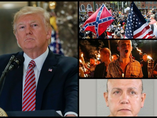 White Supremacist Terrorists Operate Like ISIS, Trump Shrugs