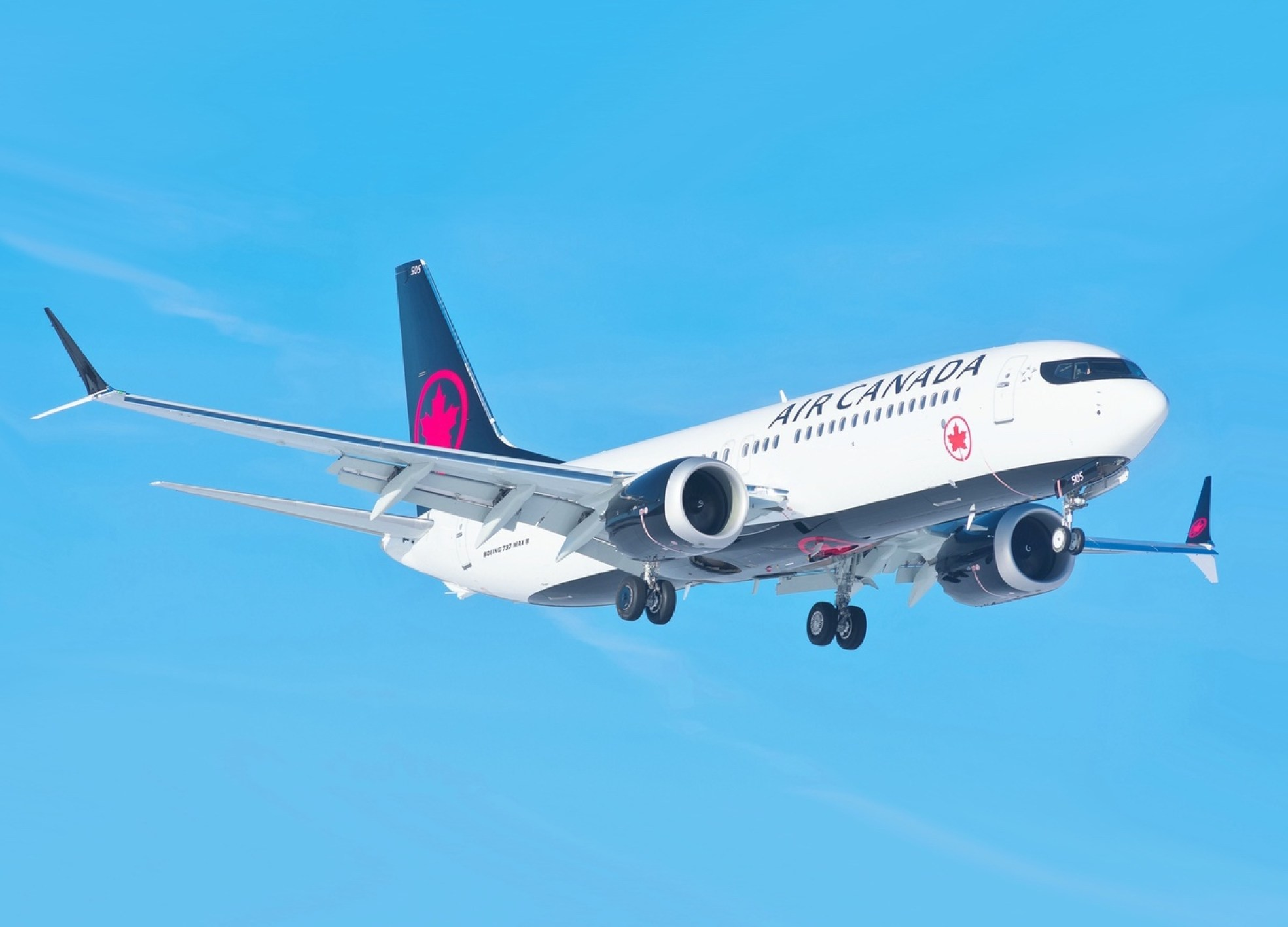 Air Canada Boeing 737 MAX 8 - March 12, 2018 (Liam Allport/Flickr)