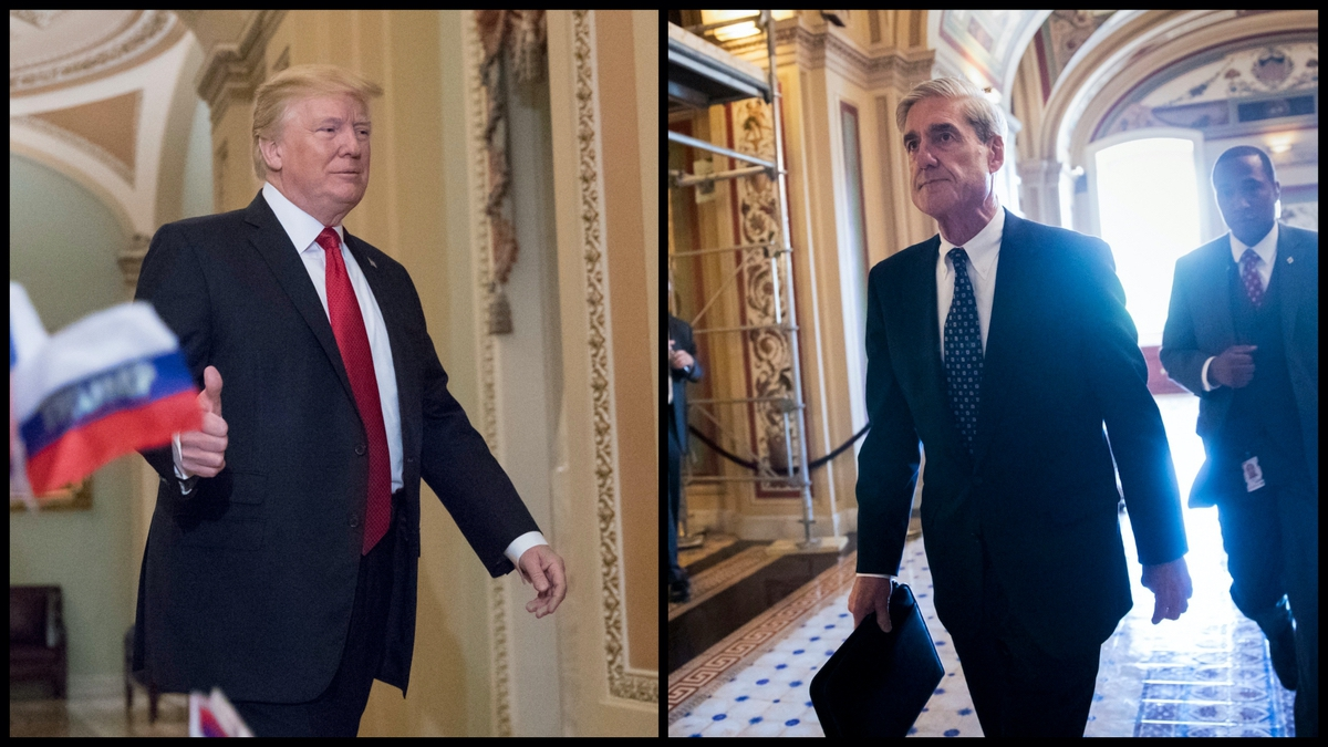 President Trump and Special Counsel Robert Mueller (AP)