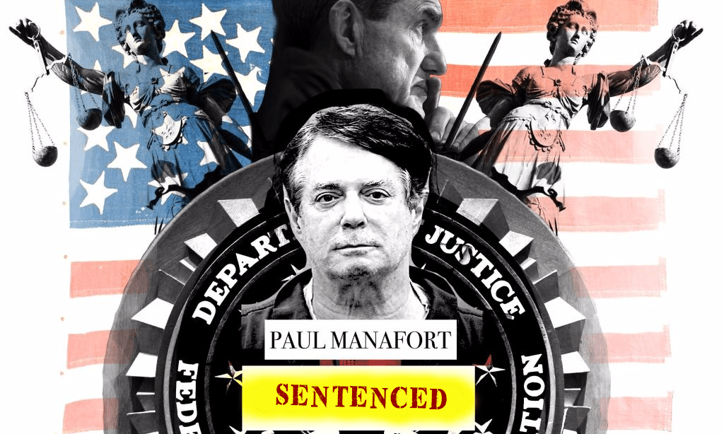 Former Trump Campaign Chairman Paul Manafort (Graphic By Maddie Anderson and edited by Adam Al-Ali)