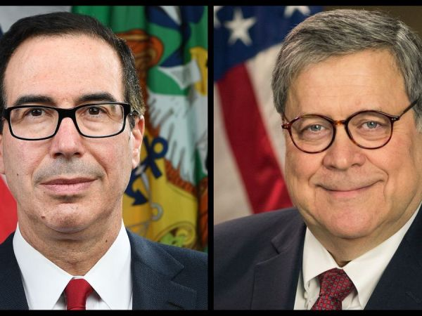 Mnuchin Violates Tax Law As Barr Could Be Held In Contempt