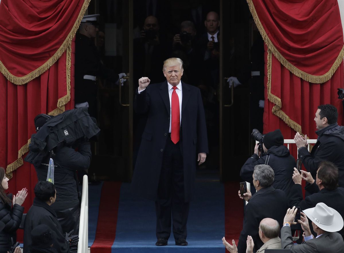 President Donald Trump's Inauguration – January 20, 2017 (AP)