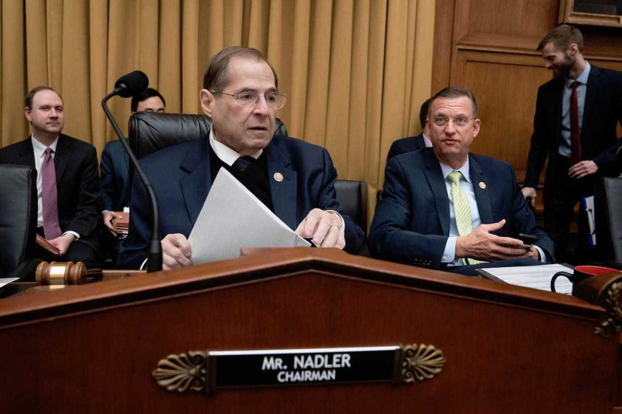 House Judiciary Chairman Jerrold Nadler (D-NY) and Ranking Member Doug Collins (R-GA) - (AP)