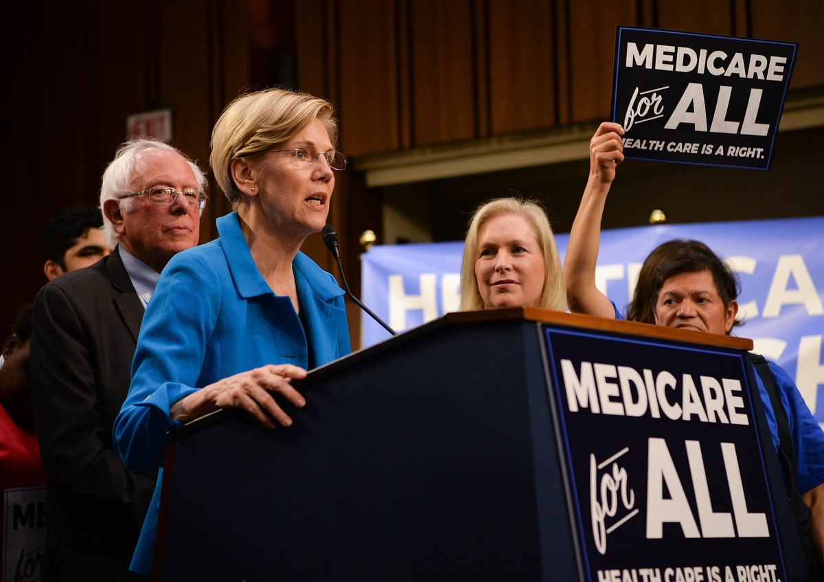 Senate Democrats introduce the Medicare For All Act of 2017 - September 13, 2017