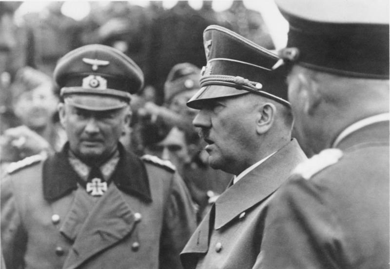 Günther von Kluge and Adolf Hitler