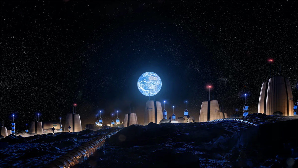 SOM, MIT, and ESA's concept of an international lunar base