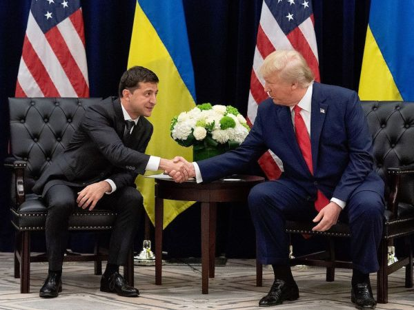 Trump Asks Ukraine To Investigate Biden On Call, Then On Camera