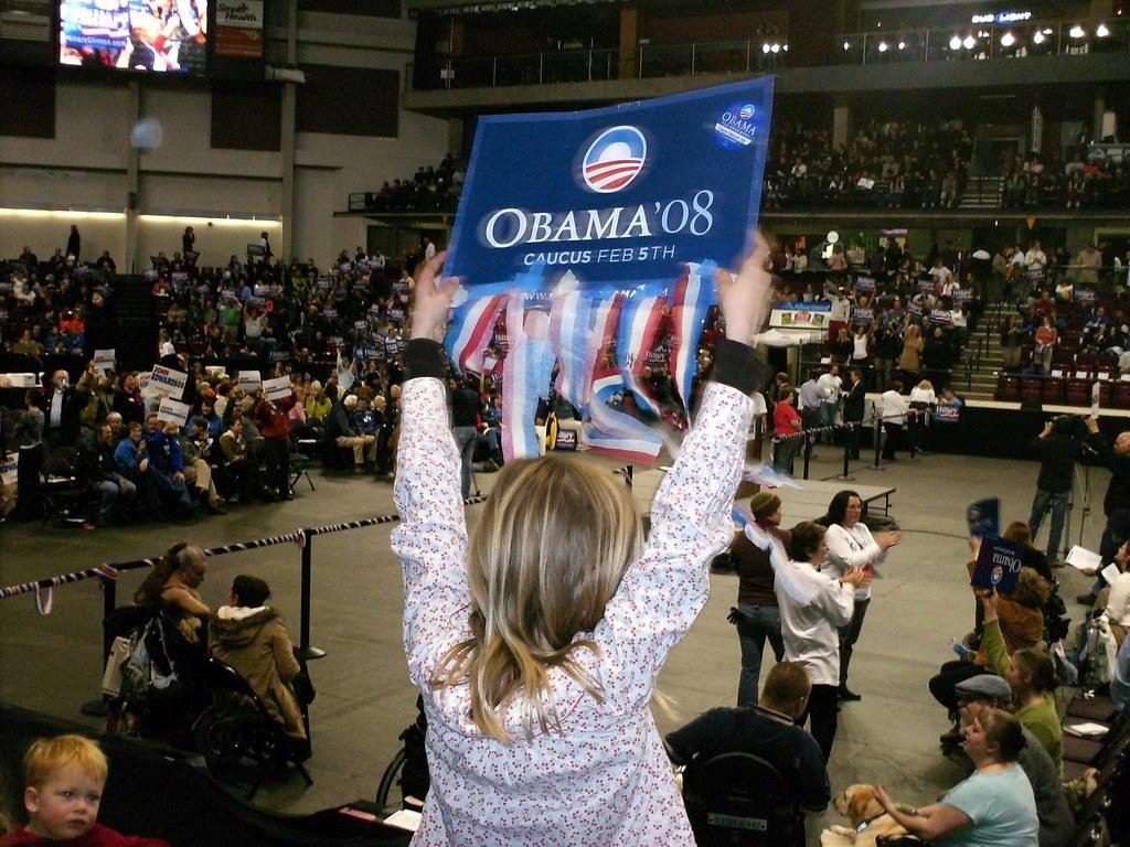 Iowa Caucus Obama