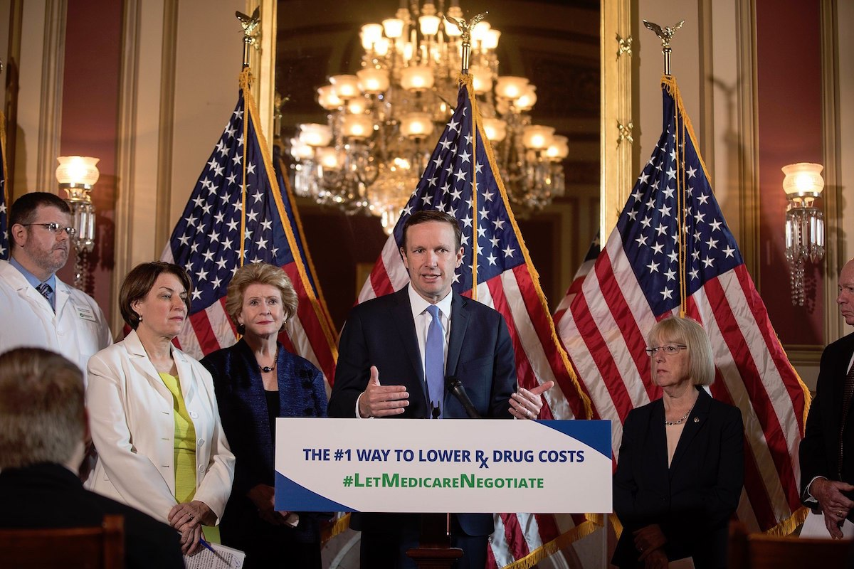 Senate Democrats' press conference on drug prices (June 12, 2019)