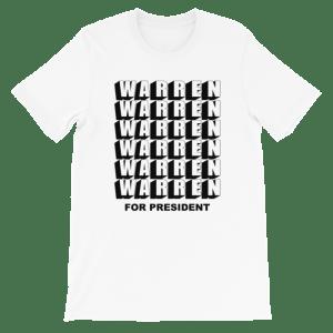 Warren for President shirt