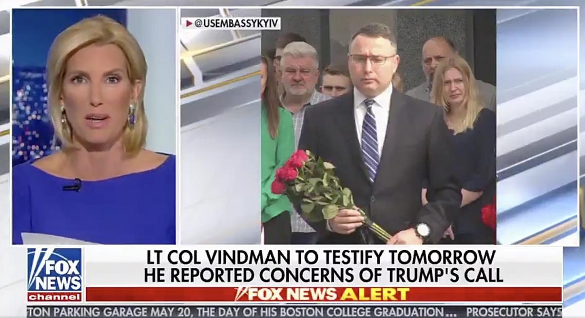 Fox News Anchor Laura Ingraham - October 28, 2019