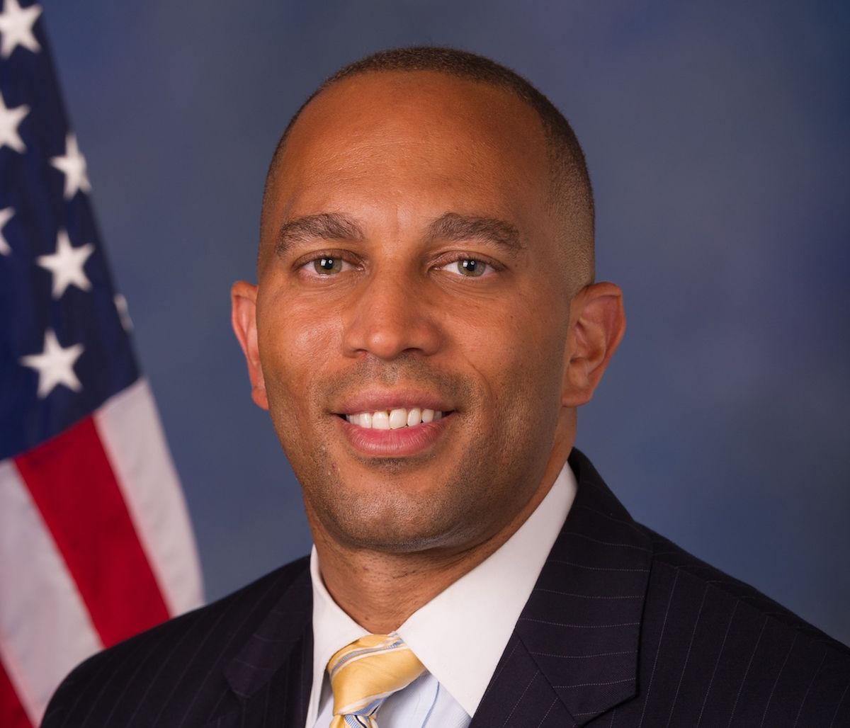 Rep. Hakeem Jeffries (Official Photo)