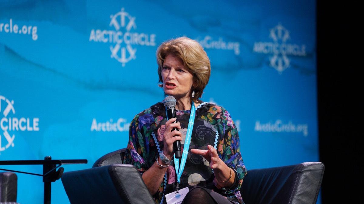 Senator Lisa Murkowski (R-AK) at the Arctic Circle 2017 event (Source: Arctic Circle)