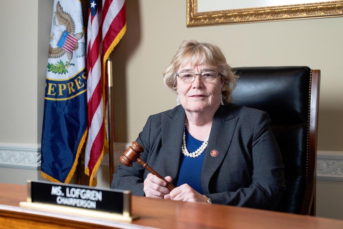 Rep. Zoe Lofgren (Official Photo)
