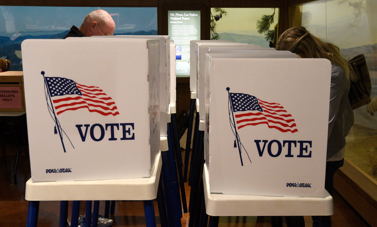 Santa Barbara County's election prep (Credit: Paul Wellman via Santa Barbara Independent)