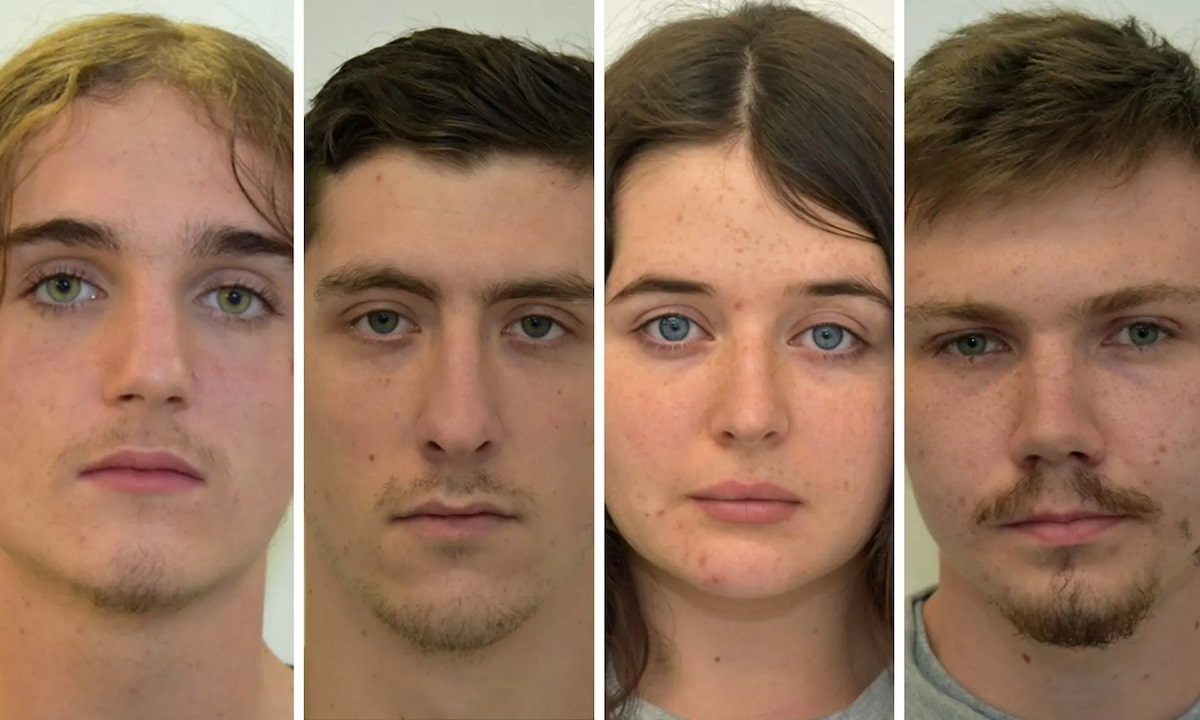 Four people indicted for their membership to a British terrorist group (Image via West Midlands Police)