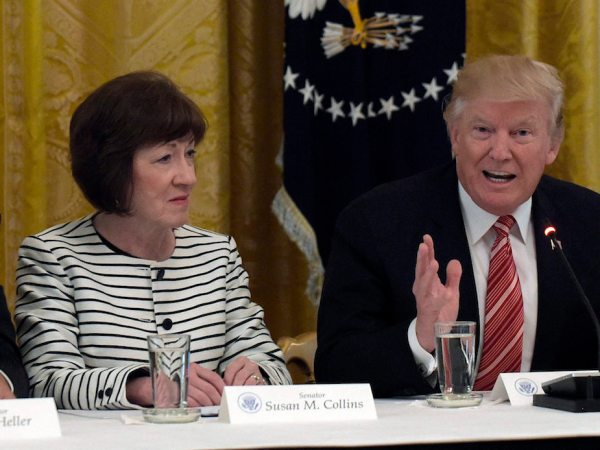 Susan Collins And The Passive Enabling Of Authoritarianism