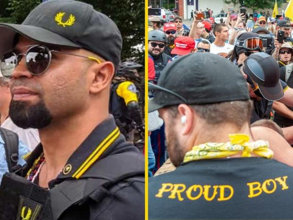The Proud Boys Are Standing By
