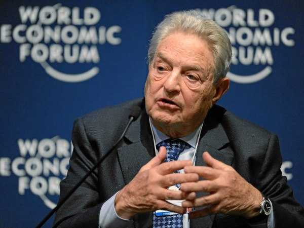 How George Soros Became The Right's Scapegoat