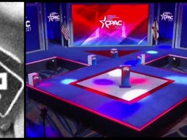 Hyatt Faces Backlash Over CPAC Stage Resembling Nazi Symbol