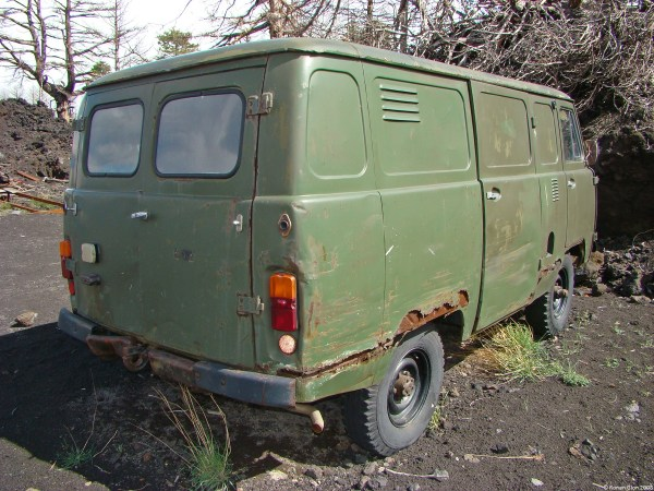 uaz-451-m | Ran When Parked