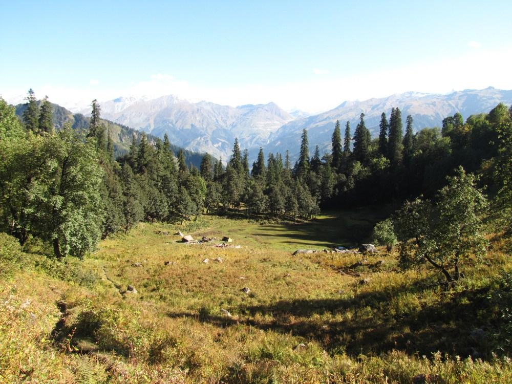 Trekking in Himalayas - Bara Bhangal expedition (4/6)