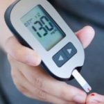 Using a glucometer to check blood sugar
