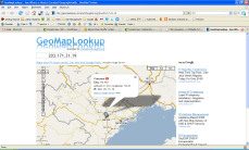 SQL injection hacker - 2nd hacker location