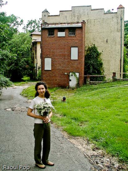 Ligia at the Villa