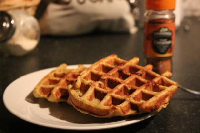 waffles saudáveis Rapariga moderna - Joana banana blog
