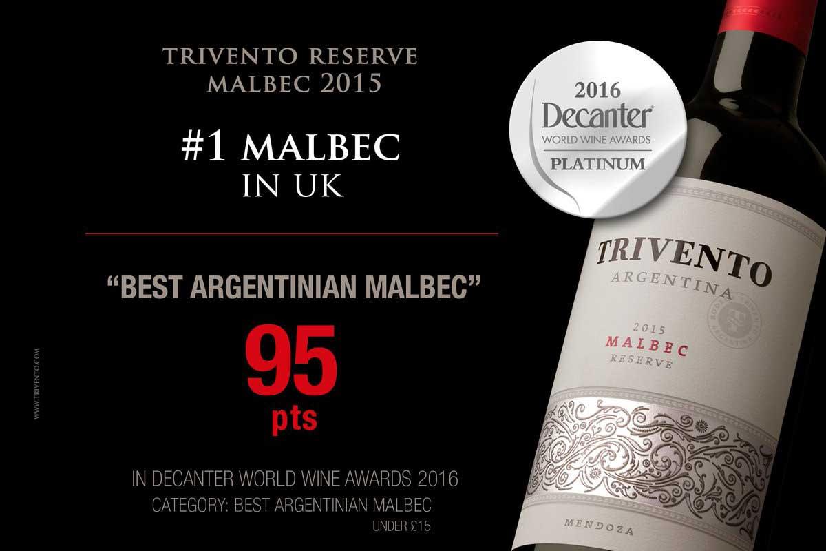 Malbec Wine Winner 2016