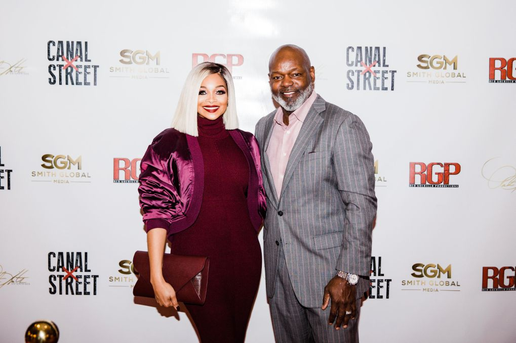 CANAL STREET EXECUTIVE PRODUCER PAT SMITH AND HER HUSBAND DALLAS COWBOYS GREAT EMMIT SMITH