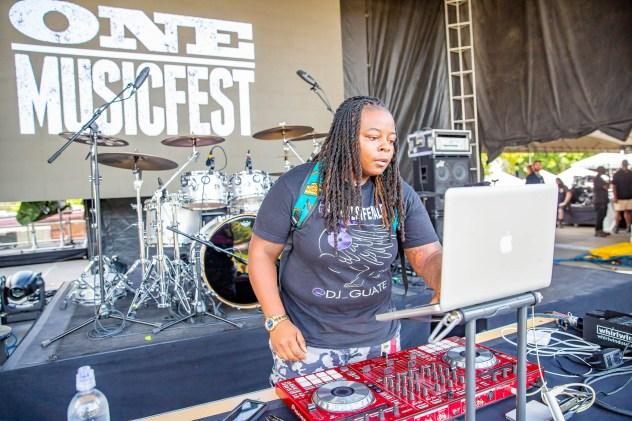 DJ Guate at OMF18 Sat