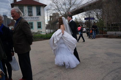 A runaway bride!!! (maybe...not really...)