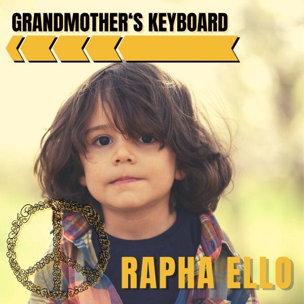Grandmother's Keyboard Artwork by RaphaEllo