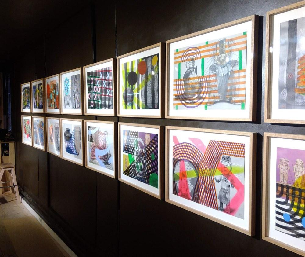 2018-2019-Raphael-Lam-Exposition-personnelle-dessins-serie-precolombien-galerie-autour-de-l-image