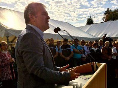 Inauguration de la maison de santé de Mirambeau