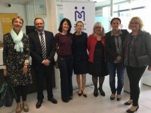 Inauguration Maison des services publics de Mirambeau