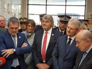 Visite de Gérard Collomb à la Rochelle