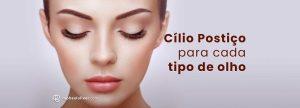 Como escolher o cílio postiço para cada formato de olho