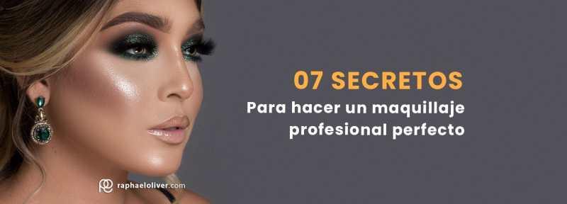 Como hacer un maquillaje profesional perfecto paso a paso - Raphael Oliver