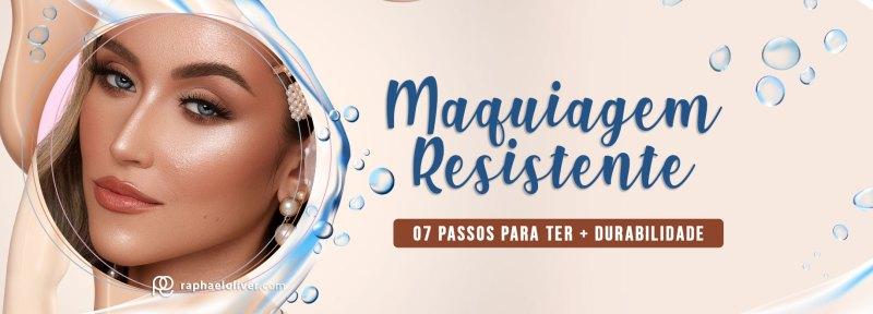 Como fazer maquiagem resistente ou à prova d'água - Pele Blindada- Raphael Oliver