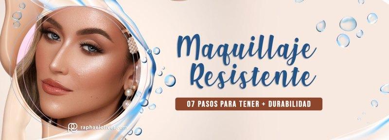 Como hacer un maquillaje resistente y a prueba de água - Raphael Oliver
